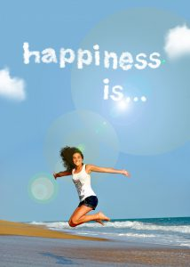 blij en gelukkig