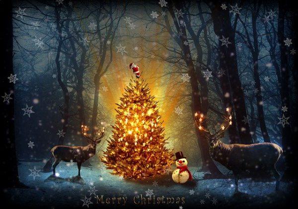kerstwensen geluk