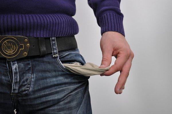 geld tekorten